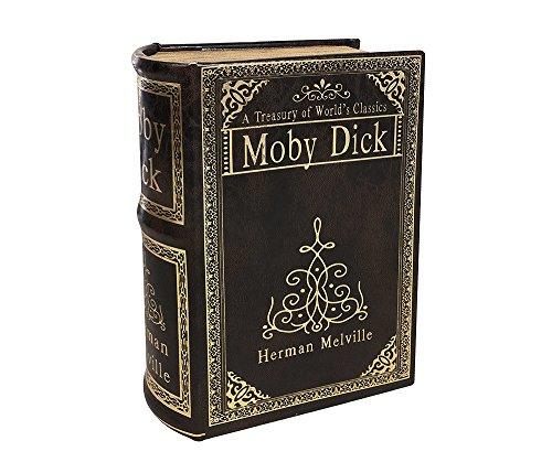zeitzone Hohles Buch Geheimfach MOBY DICK Buchversteck Buchsafe Antik-Stil 22cm