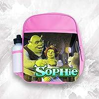 b905a683c3 BabySmiles zaino qualsiasi nome Shrek ragazza per bambini da scuola