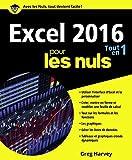 Excel 2016 Tout en un pour les nuls couvre de manière simple et claire les différents aspects de la version la plus élaborée du célèbre tableur de Microsoft. Ce livre est destiné à tous les utilisateurs du programme quel que soit leur niveau d'expéri...