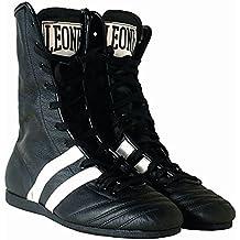 Botas Boxeo León Negro Talla 041 ...