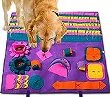 Patio PLUSTappetino da addestramento per Cani da Compagnia per Animali Domestici Tappetino da Allenamento Nosework per Cani attività Divertente Tappetino da Gioco per alleviare Lo Stress