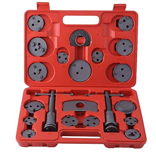 Yogatada Kit Freno Posteriore per Pinza Freno Universale 22Pcs per Ricambio pastiglie Freno per la Maggior Parte delle Automobili