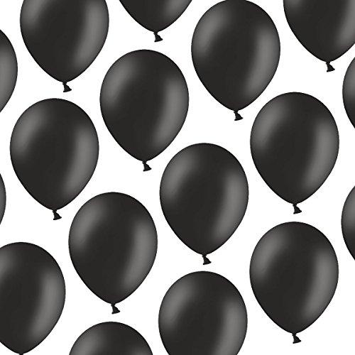 cm - Pastell Schwarz - Formstabil - Kleenes Traumhandel® (Um Baloons)