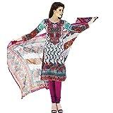 Yati Women's Cotton Printed Multicolor D...