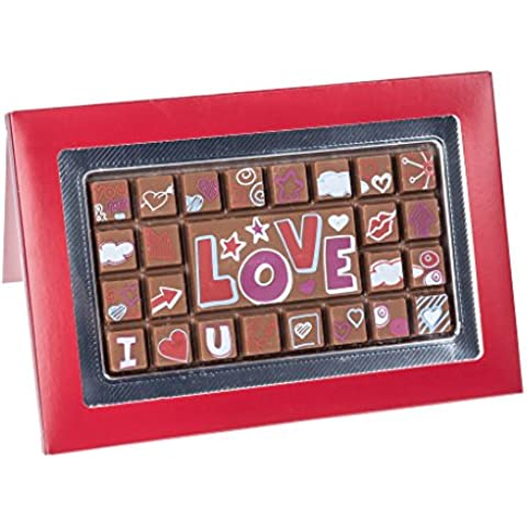 Tableta de chocolate con caja de regalo -