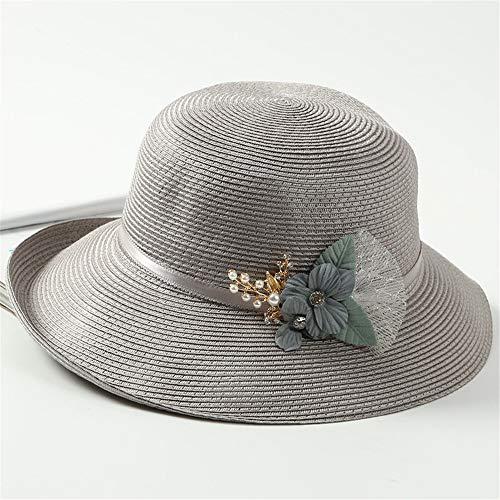 GMMZ111 Sun Hat/Sombrilla Verano Sombrero Dama Primavera