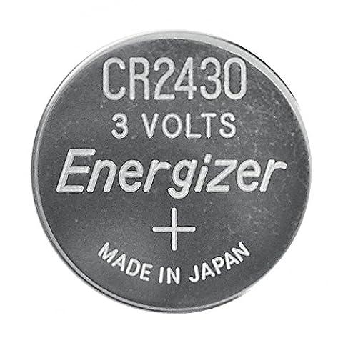ENERGIZER Lot de 5 Blisters de 2 Pile Lithium CR 2430