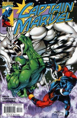 Captain Marvel Volume 3 Issue 3 March 2000