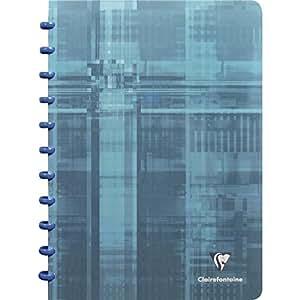 Clairefontaine 8135C clairing-cahier a4-ligné/marge-plusieurs coloris - 72 feuilles