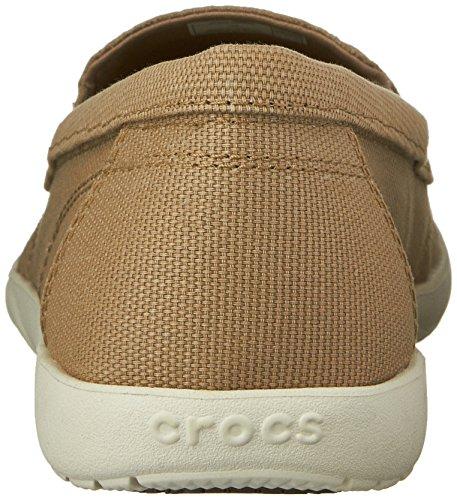 Crocs Walu Ii Canvas Loafer Khaki/Stucco