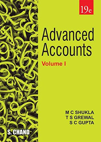 Advanced Accounts - Vol. I