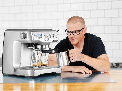 Sage by Heston Blumenthal the Dual Boiler Coffee Machine, 2200 W – Silver