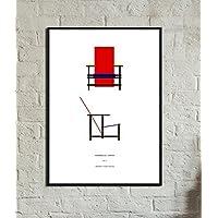 Stampa di un poster con sedia Re