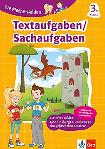 Klett Die Mathe-Helden Textaufgaben 3. Klasse: Mathematik Grundschule (mit
