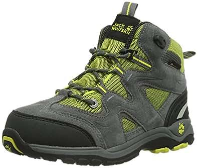 Jack Wolfskin  KIDS ALL TERRAIN TEXAPORE, Chaussures de randonnée mixte enfant - Multicolore - Mehrfarbig (sulphur), 40 EU
