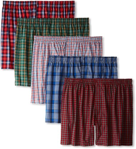 Hanes Ultimate Men's TAGLESS® Tartan Boxers with Comfort Flex® Waistband (Boxer-shorts Hanes)