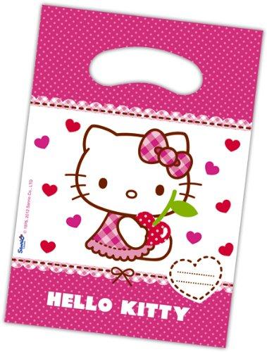Preisvergleich Produktbild NEU Geschenktüte Hello Kitty, 6 Stk.