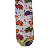 Cool 7 Damen Socken Corgi Christmas, one Size