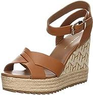 Tommy Hilfiger Raffia High Wedge Womens Sandals
