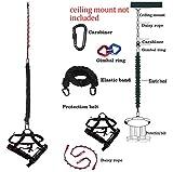 DASKING New Type Bungee Cord Widerstand Bands Für Home Gym Gravity Bungee 4D Training Pro Sport Geräte Ideal Für Familie Gym Studio (Gewicht Klasse -4)