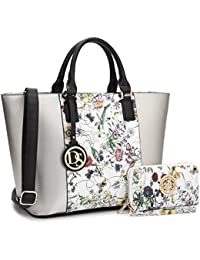57afa1627d Women Ladies Designer Handbags Purses Large Shoulder Bags Tote Top Handle  Work Bags Hobo with Matching