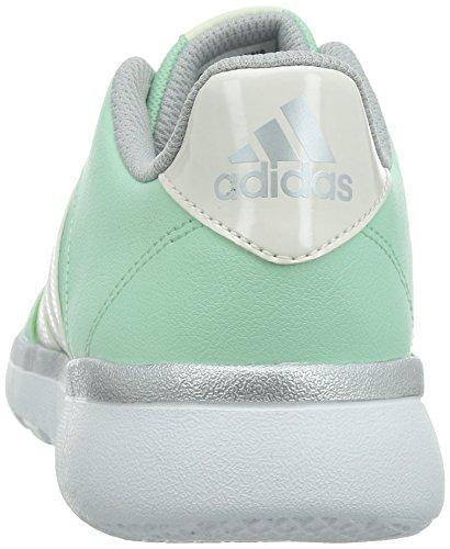 adidas Performance Essential Fun Damen Laufschuhe Verde / Plata / Blanco