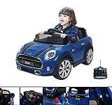 La Mini Cooper blu impressionerà tutti; bambini e adulti. Questa macchina elettrica ha tutte le caratteristiche di una vera. Con una presentazione raffinata, riproduce le linee sportive di una vera Mini Cooper con una potenza del motore di 12...
