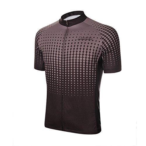 Unisex all'aperto ciclismo Jersey Bike breve MTB biciclette abbigliamento body traspirante traspirante estate-nero-M