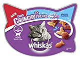 Whiskas Trio Crunchy Cat Treats Seafood Flavors, 55 g