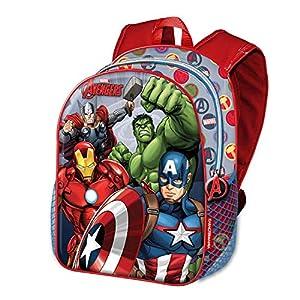 51iKJ0qio0L. SS300  - Karactermania The Avengers Force-Basic Rucksack Mochila Infantil 40 Centimeters 18.2 Multicolor (Multicolour)