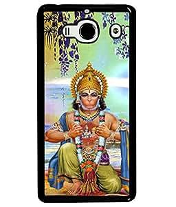 PrintVisa Designer Back Case Cover for Redmi 2S (sankat mochan hanuman ji)