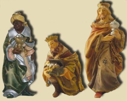 Preisvergleich Produktbild Heilige drei Könige,  3tlg. geeignet für 9cm Figuren