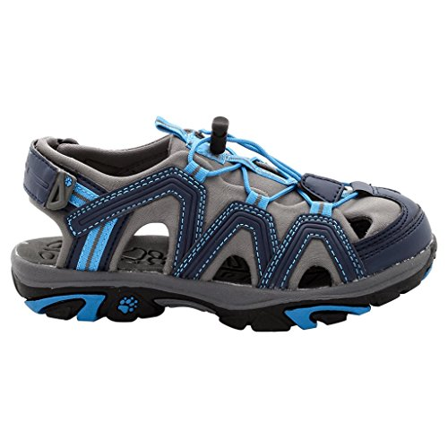 Jack Wolfskin Little Pirate Sandal K, Sandales sport et outdoor mixte enfant Bleu - Blau (night blue 1010)