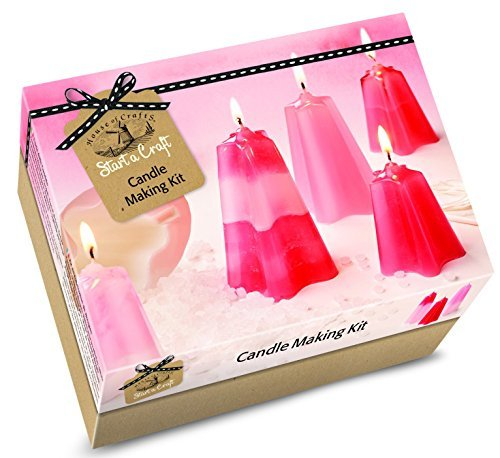 House Of Crafts Candle Making Starter Craft Kit Gift Set Makes 4 Candles
