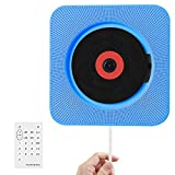 CD-Player, Wrcibo UKW-Radio HiFi Stereoanlage (MP3-fähiger CD-Player, USB-Port, AUX-IN, Fernbedienung, Stand und...