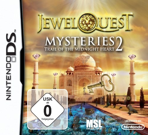 Jewel Quest Mysteries 2: Trail of Midnight Heart (Mystery-spiele Für Ds)