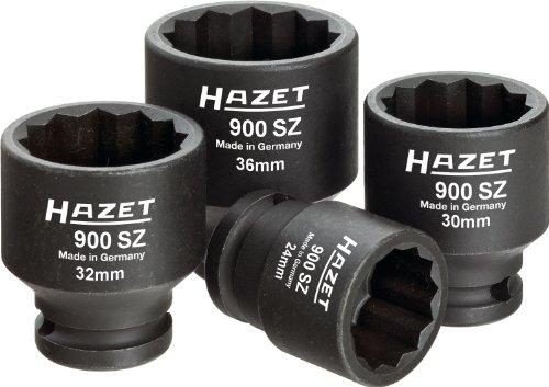 Preisvergleich Produktbild HAZET 900Sz / 4 Kraft-Steckschlüssel-Satz