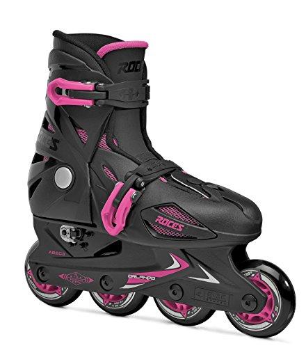 Roces Mädchen Inline-skates Orlando 3, black-pink, 30-35, 400687
