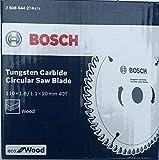 #4: Bosch 4 inch 40 teeth TCT tungsten carbide eco circular saw blade for wood