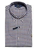 Polo Ralph Lauren Button Down Shirt Slim Fit Oxfod Fabric (XL, red blu)