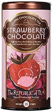 The Republic of Tea, Strawberry Chocolate Tea, 36-Count