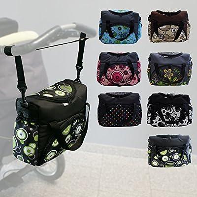 Bolsa portapañales | Bolso para el carrito | Bolsa portapañales para bebé