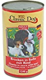 6er Pack Classic Dog Dose Rind 6x1240g