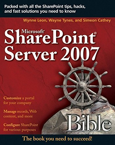 Microsoft SharePoint Server 2007 Bible by Avitiva Corp (2007-06-12)