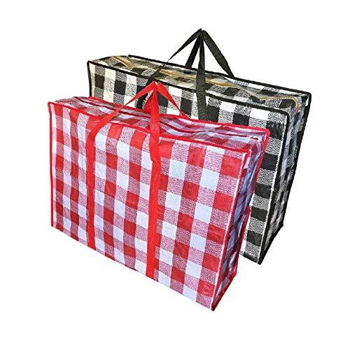 Reisetaschen, Handtasche, Wäschesack - Tasche für Haus Ziehen, Reisen, speicher.robuste die tasche für kleidung, Betten, Kissen, Bettwäsche, Kissen - 3 stück (Taschen Kleidung Reise Für Die)