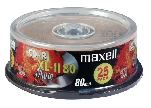 Maxell CD-R 80 minuti XL-II 80 per Audio Digitale
