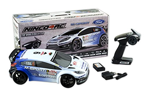 Ninco4RC - Coche Radiocontrol Ford M-Sport (NH93072)