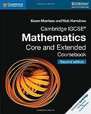 Cambridge IGCSE Mathematics core and extended coursebook. Per le Scuole superiori. Con espansione online. Con CD-ROM