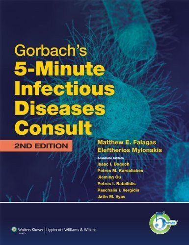 Gorbach's 5-minute Infectious Diseases Consult (5-minute Consult Series)