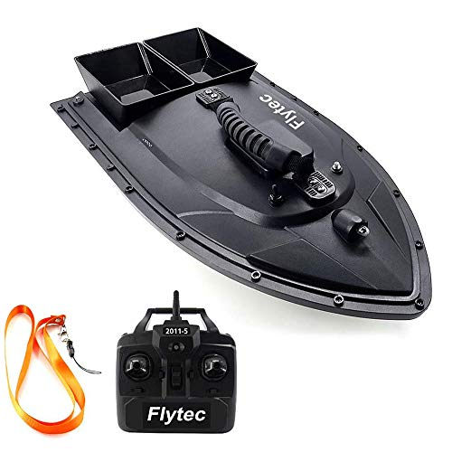 Goolsky Flytec 2011-5 Fishing Bait Boat RC Boat 500m Remote Control 1.5kg Loading Fish Finder with Double Motor Fishing boat accessories fishing gifts for men